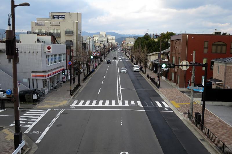 20160131_5 烏丸通、寺之内歩道橋(2016_0131_154055)