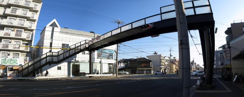 20160211_1 東大路通、養徳歩道橋(2016_0211_155845_stitch)