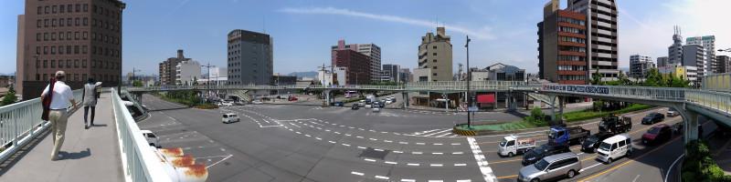 20160514_01 醒泉横断歩道橋(堀川五条)