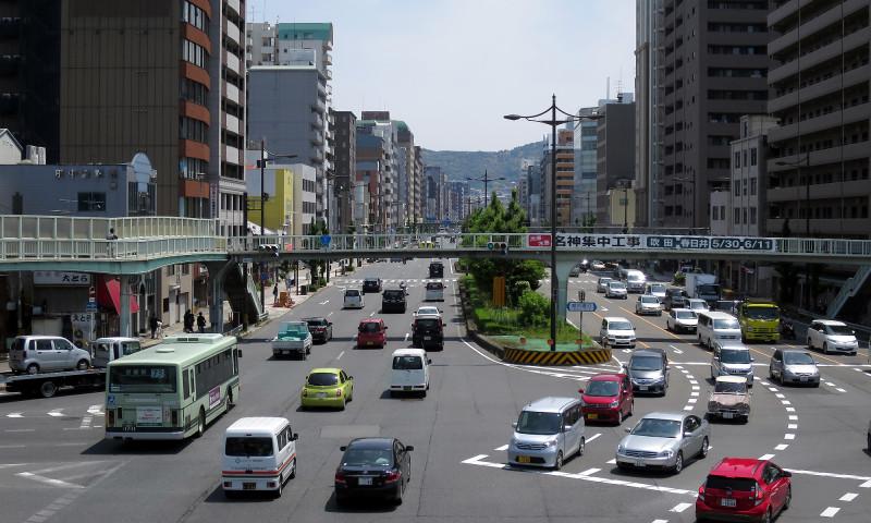 20160514_05 醒泉横断歩道橋(堀川五条)(2016_0514_112005)