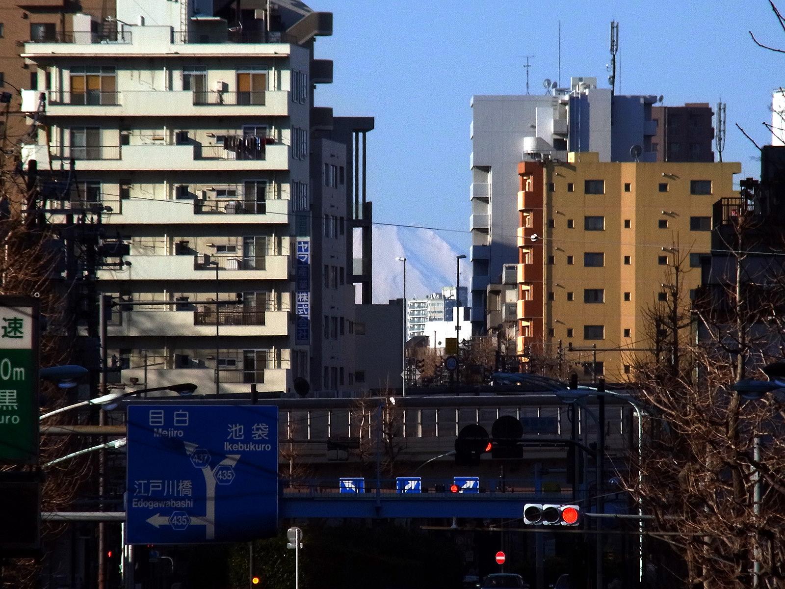 011_1 富士見坂(大塚)より富士山(2013_0120_090129)