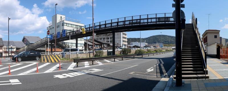 20170402_2 六波羅横断歩道橋(2017_0402_123527_stitch)