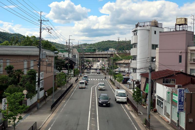 20170527_12 山科横断歩道橋(三条通)(2017_0527_141423)