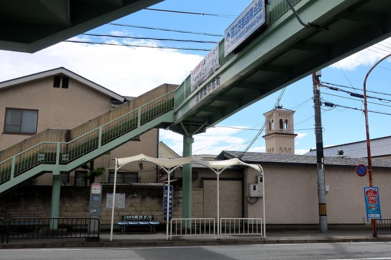 20170527_13 山科横断歩道橋(三条通)(2017_0527_141458)