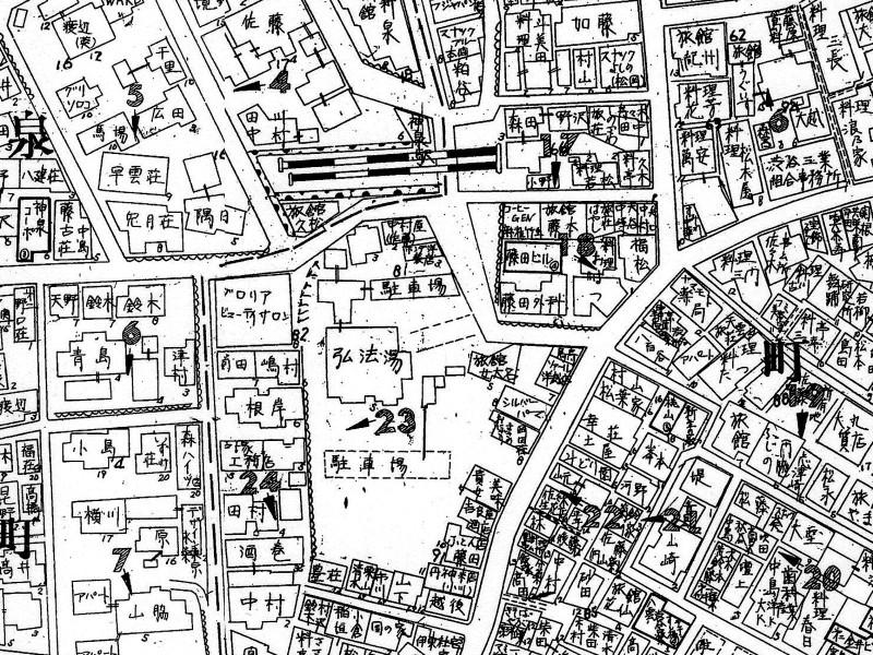 02_1 弘法湯(1970)渋谷区円山町23-2
