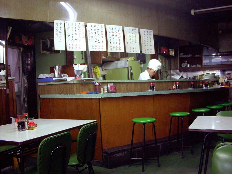 111_5 レストラン・ボンマルシェ 新宿区西早稲田1-8-21(2002_0902_132508AA)