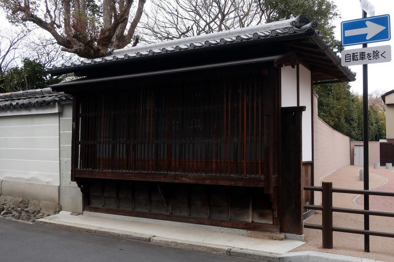 20180216 宝鏡寺の「物見台」(2018_0216_162311)